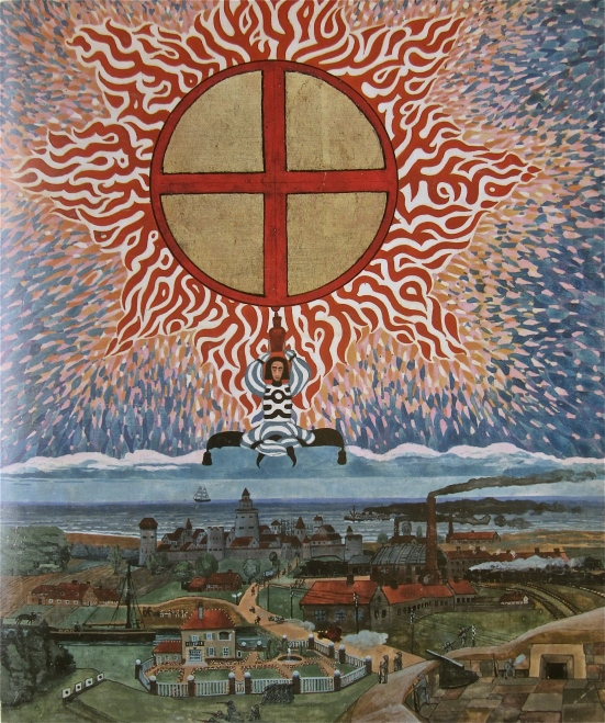Jung's childhood vision of Europe, Red Book 125