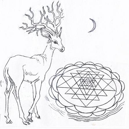 deer Sri Yantra