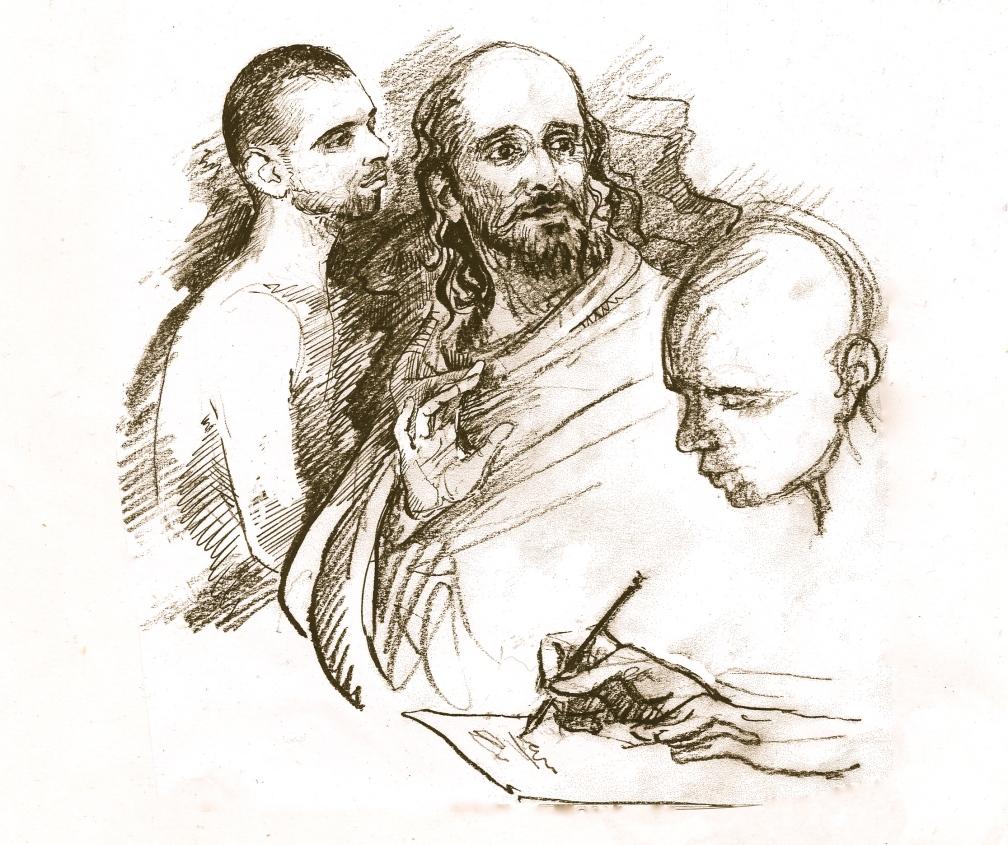 ramana and the muni compose