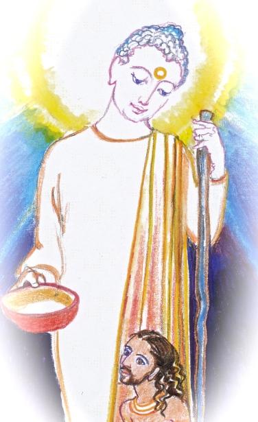 Sacred India Tarot page of disks - Version 2