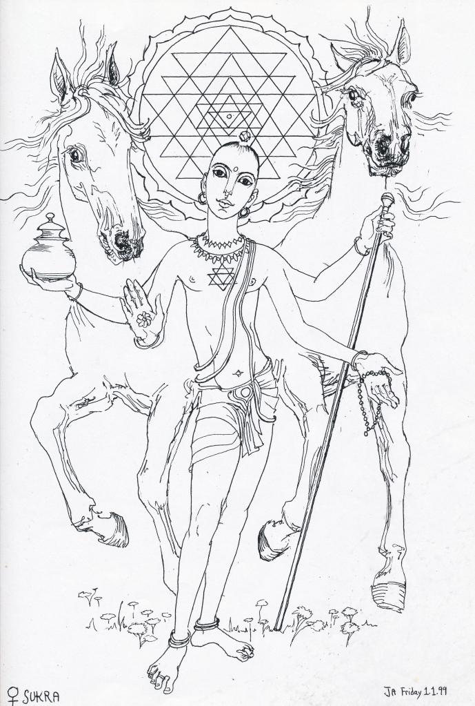Vedic Jyotish grahas - Sukra, Venus