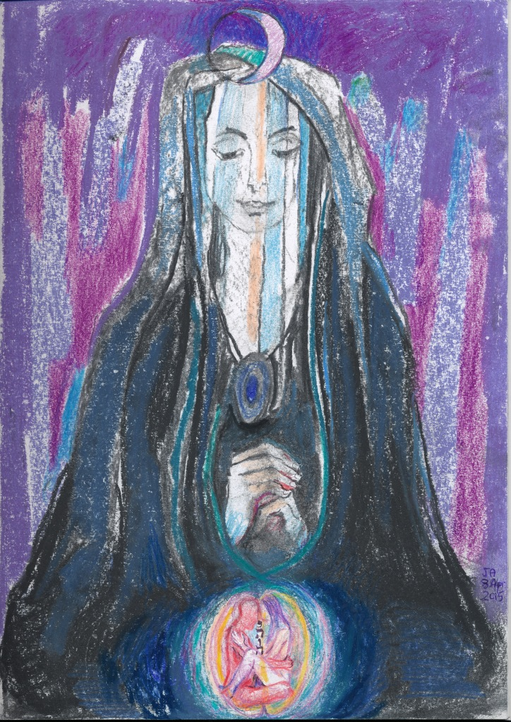 Mother Isis of the Moon - we should not take the name of ISIS in vain -  the feminine power of the ancient world