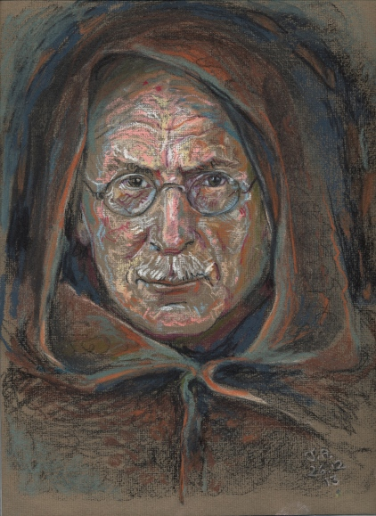 Jung as hermit - medicine man of the twentieth century, and pioneer with the archetypes.  We who are travellers  are carried on his shoulders into the ways which he illumined.