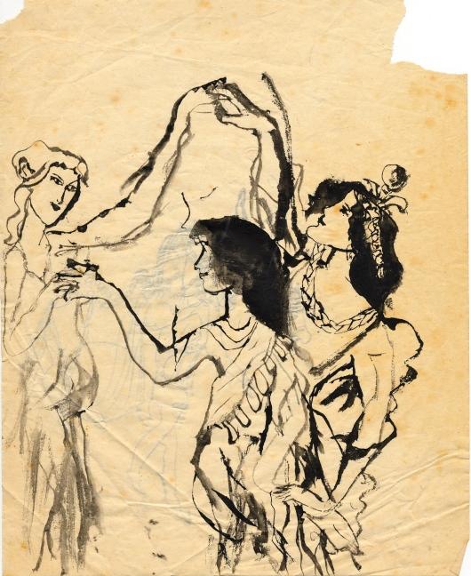 Three Graces 1956