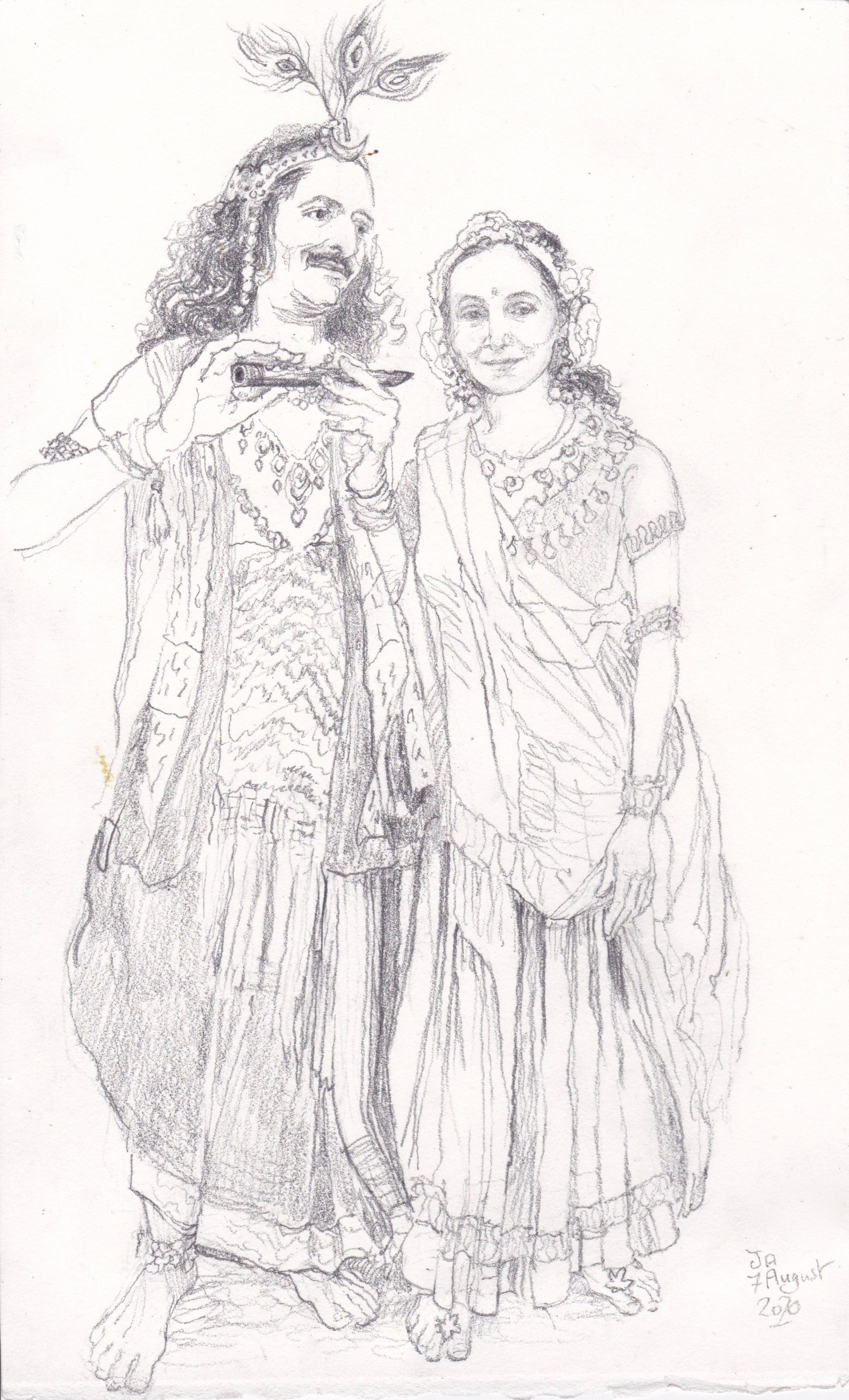 krishna radha vishnu