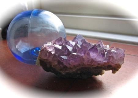 amethyst violet crystal
