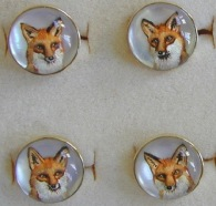 fox cuff links copy 2
