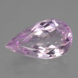 12.00ct Pear Facet Pink Kunzite